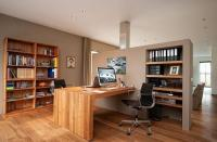 15 Modern Home Office Designs Enhanced with Space Saving ...