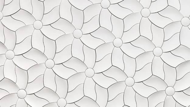 3d Wallpaper Ideas Modern Interior Design With 3d Concrete Wall Tiles