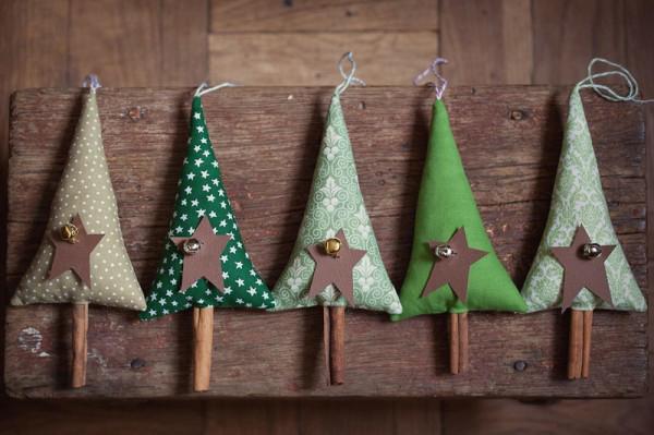 30 Handmade Christmas Decorations with Cinnamon Sticks Adding