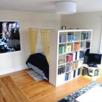 25 Room Dividers with Shelves Improving Open Interior ...
