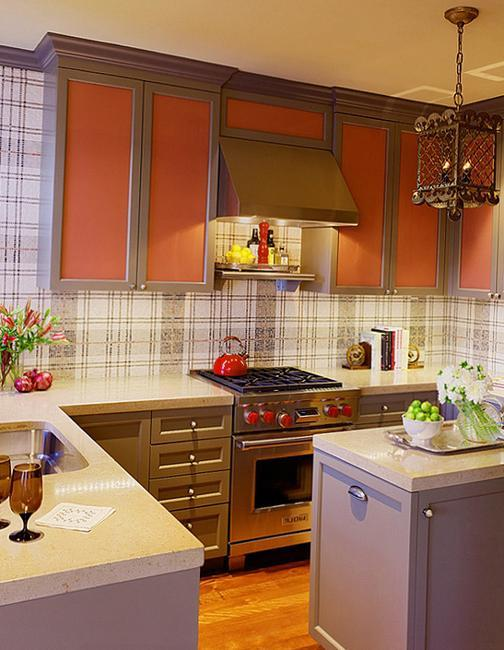 3d Geometric Wallpaper For Walls Modern Wallpaper For Small Kitchens Beautiful Kitchen