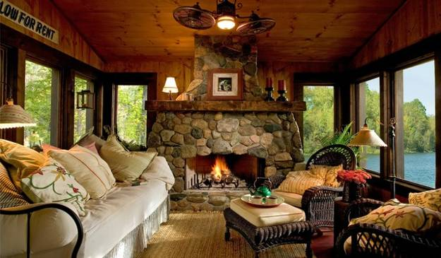 85 Ideas For Modern Living Room Designs With Fireplaces