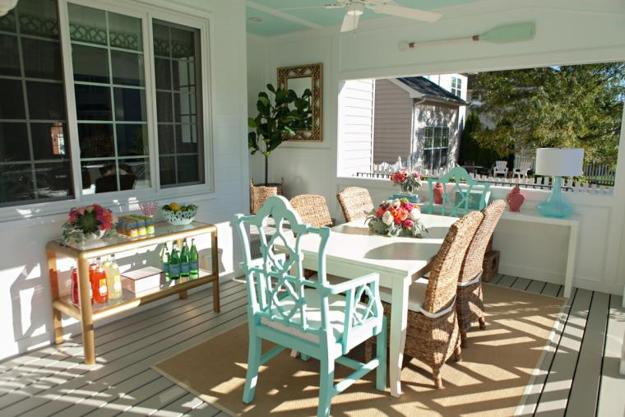 Creating Lovely Outdoor Seating Areas For Summer Tea Party