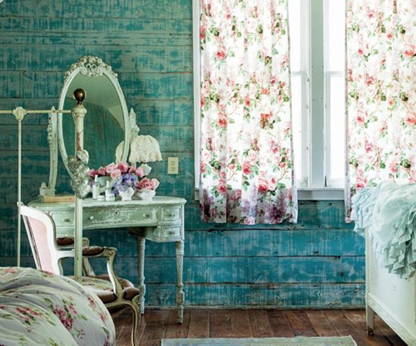 Wallpaper For Girls Room Uk Shabby Chic Decorating Ideas And Interior Design In