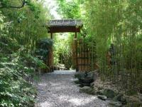 Beautiful Garden Design, Optical Illusions Balancing Yard