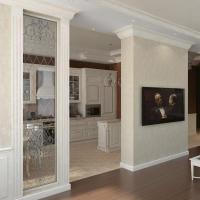 Modern Interior Design with Decorative Pilasters Adding ...