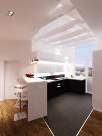 Modern Skylights, Window Designs Visually Stretching Small ...