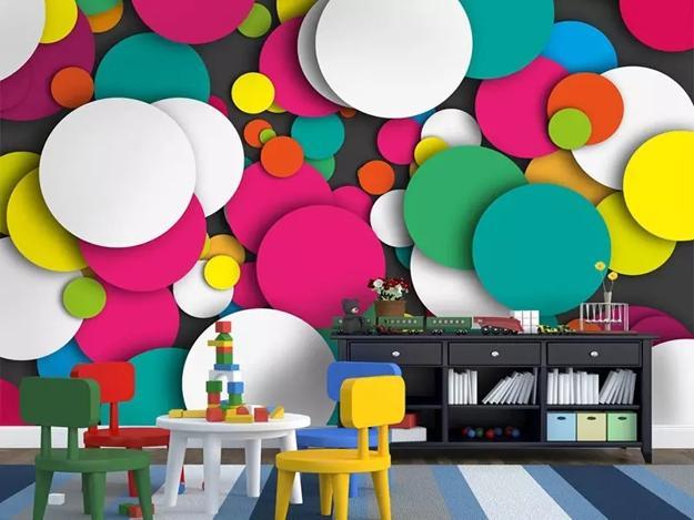 3d Geometric Wallpaper For Walls Modern Wallpaper Adding Breathtaking 3d Designs To Wall