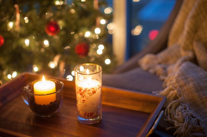 Cozy Fall Hd Wallpaper Winter Night Essentials Lush To Blush