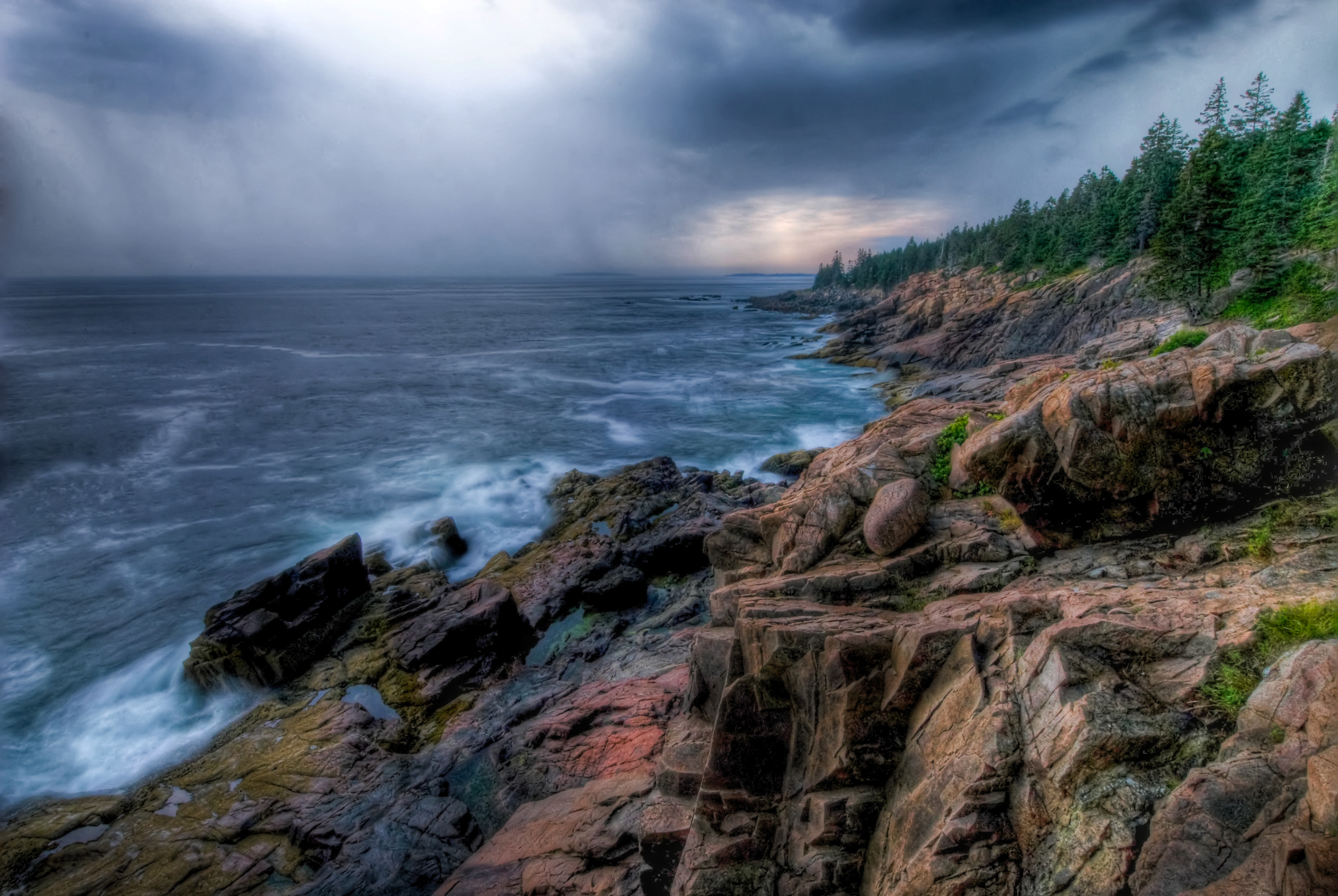 Gorgeous Fall Wallpaper Acadia National Park Lussier Photography