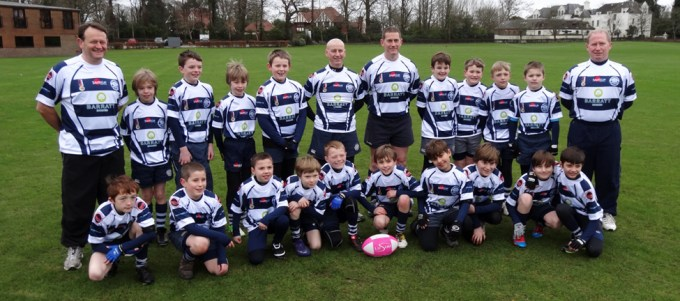 East Grinstead Rugby Club Under 10's Team