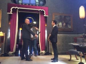 Interview im Palast Selman-klein