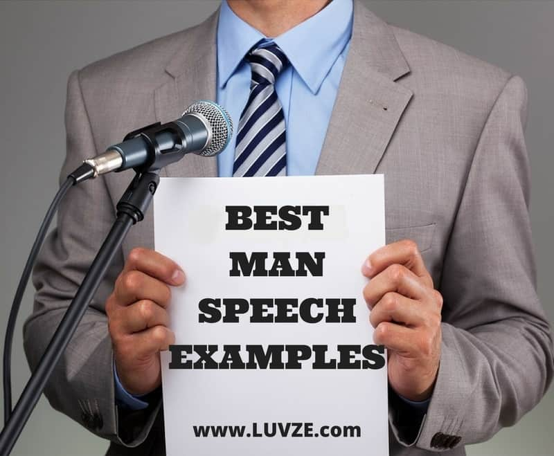 Best Man Template Guide And Speech Examples