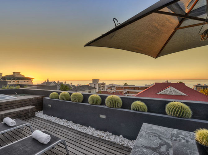 O on kloof boutique hotel and spa a chic modern escapade for Chic modern boutique