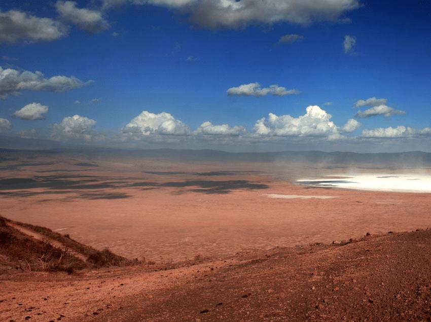 Crater Ngorongoro: Mans First Prints