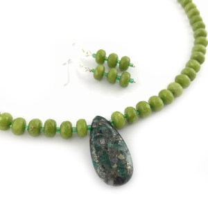 Peridot and agate jewellery online uk