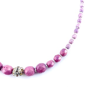 Czech Crystal Necklace Luxiere