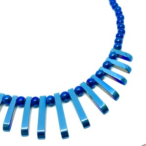 Blue hematite Necklace online uk