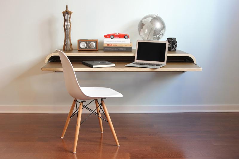 Minimal Float Wall Desk Luxify