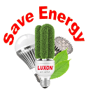 Save energy Luxon light
