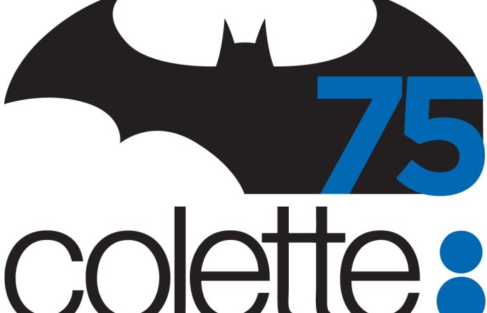 Batman s'invite chez Colette