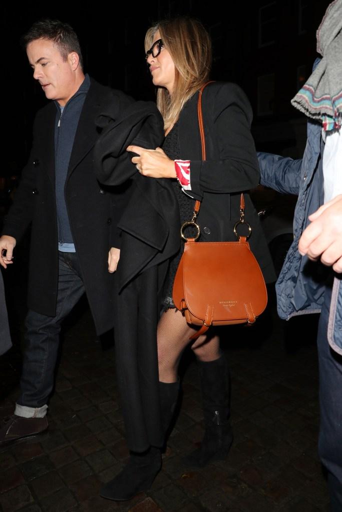 Jennifer Aniston en Burberry