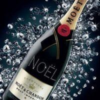 Atelier Moët - Champagnerflaschen mit Swarovski Kristallen individualisiert
