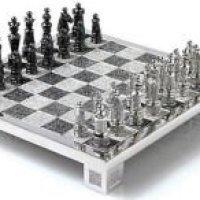 Schachspielen mit Diamanten