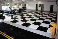 Acid Stained Concrete Floors & Countertops - Garage