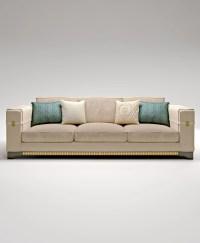 Amazon three-seat sofa frame made of solid wood, Bruno ...