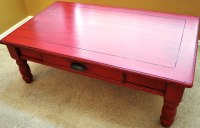 Beautiful Red Coffee Tables Ideas - Bestsciaticatreatments.com