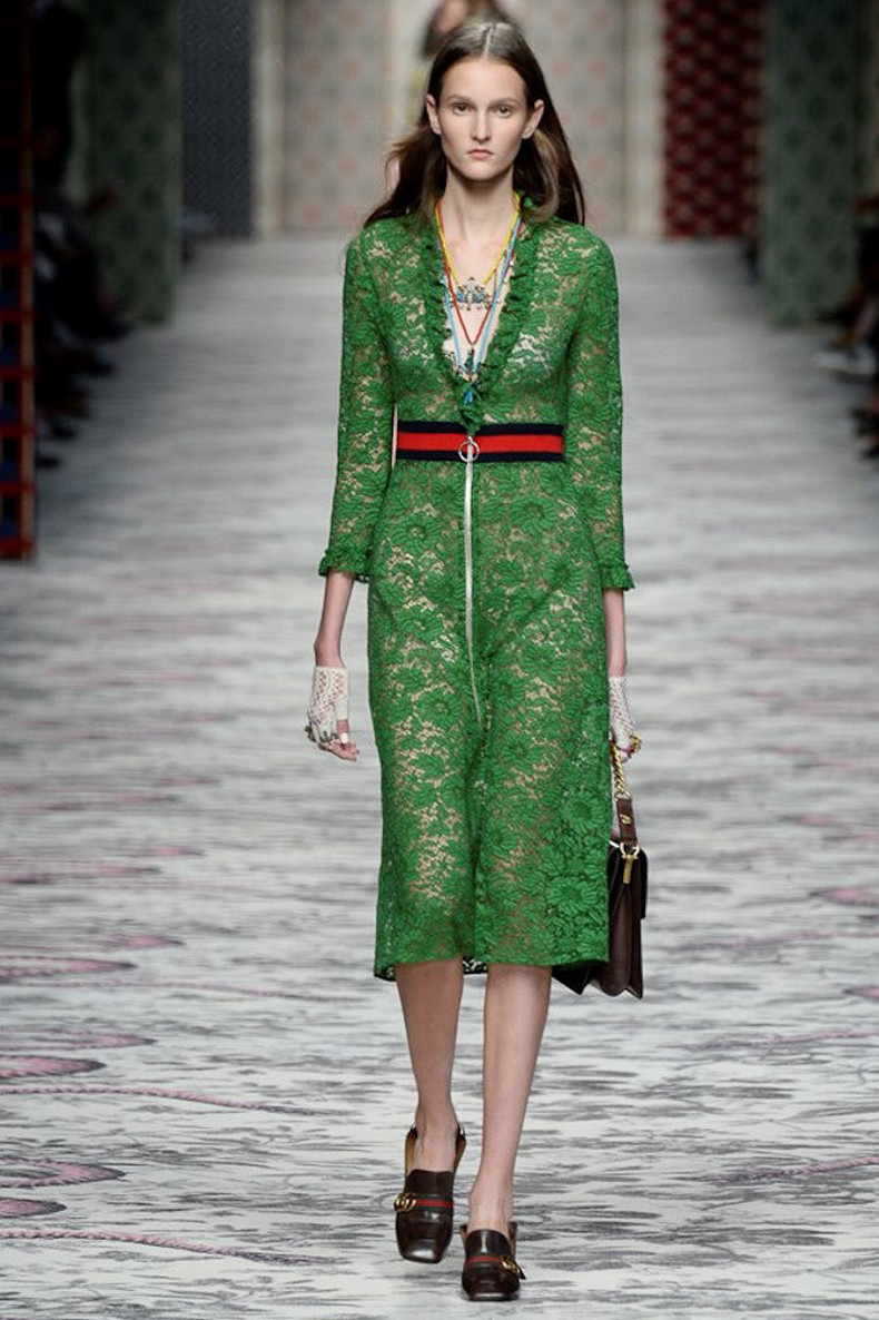 Gucci Spring 2016 RTW Collection look 1