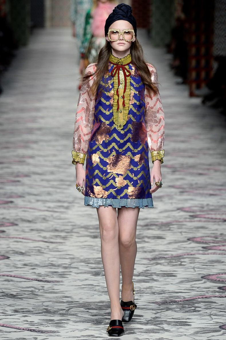 Gucci Spring 2016 RTW Collection look 19