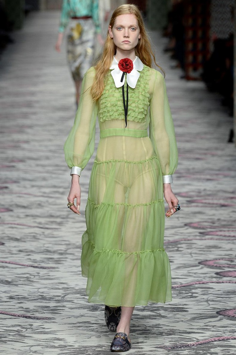 Gucci Spring 2016 RTW Collection look 35