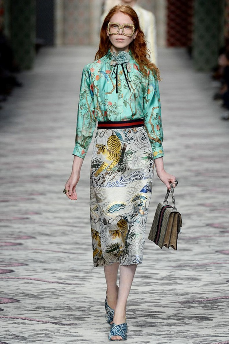 Gucci Spring 2016 RTW Collection look 36