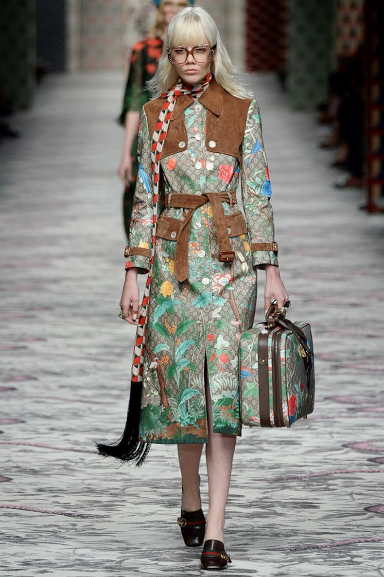 Gucci Spring 2016 RTW Collection look 42