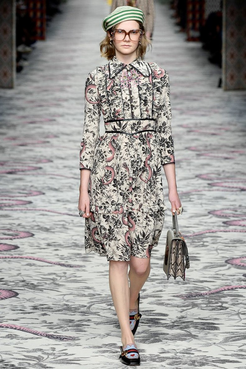 Gucci Spring 2016 RTW Collection look 45