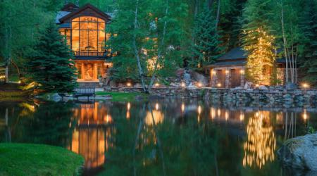 The Pond House - Ultra Luxurious $39.75 Million Mansion in Aspen, Colorado 1