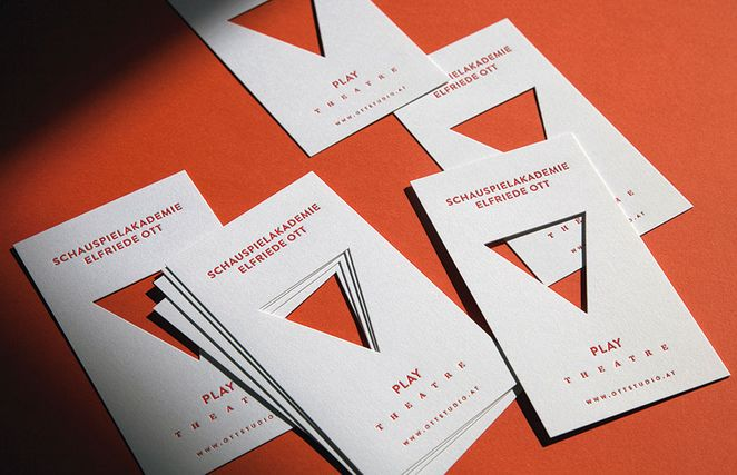 25 Extraordinary Letterpress Business Card Ideas Luxury Printing - letterpress business card