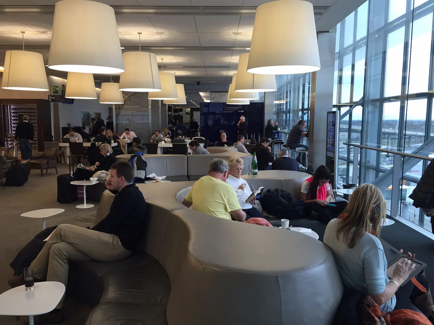Review Of British Airways Galleries Club Lounge Terminal 5