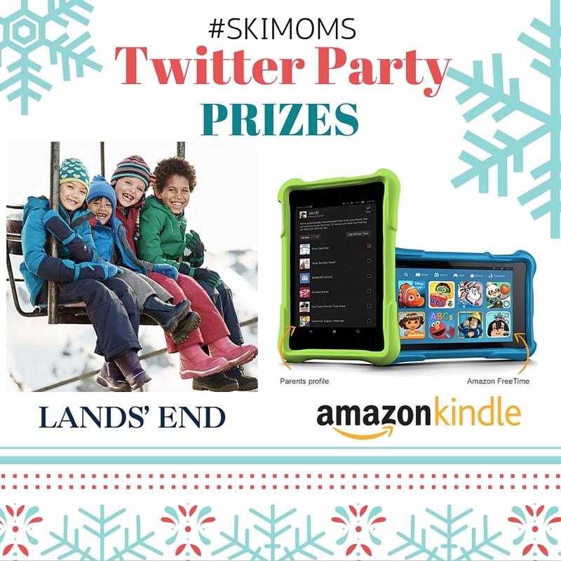 Ski Moms Prizes 12:22 Twitter Party 2