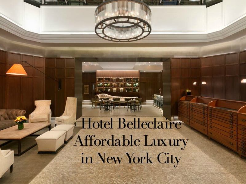 Hotel Belleclaire Lobby 2