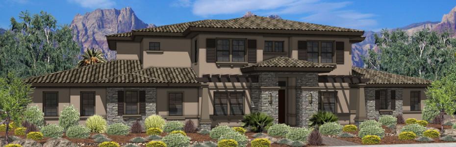 Southwest las vegas new construction homes coronado ranch for New construction ranch homes