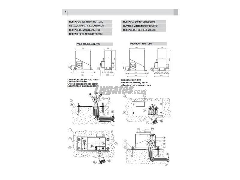 videx wiring instructions