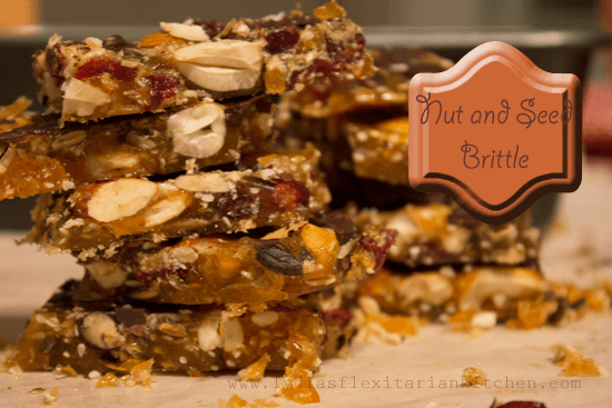 Nut and Seed Homemade Brittle