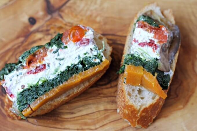 Vegetable and Goat Cheese Terrine {#TheRecipeReDux}