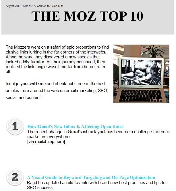 Best Email Newsletter? 10 Email Newsletter Examples You\u0027ve Got to See!
