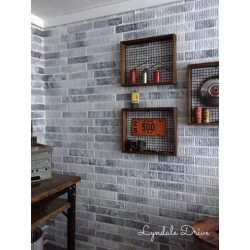 Small Crop Of Faux Brick Wall