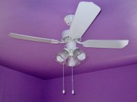 How to paint a ceiling fan without taking it down - Lynda ...