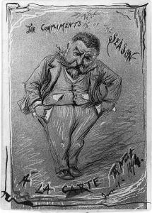 Self Portrait of Thomas Nast